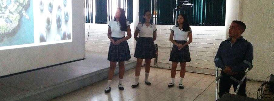 Grupo de Ex-Alumnos de #CONALEPGuaymas imparte conferencia.