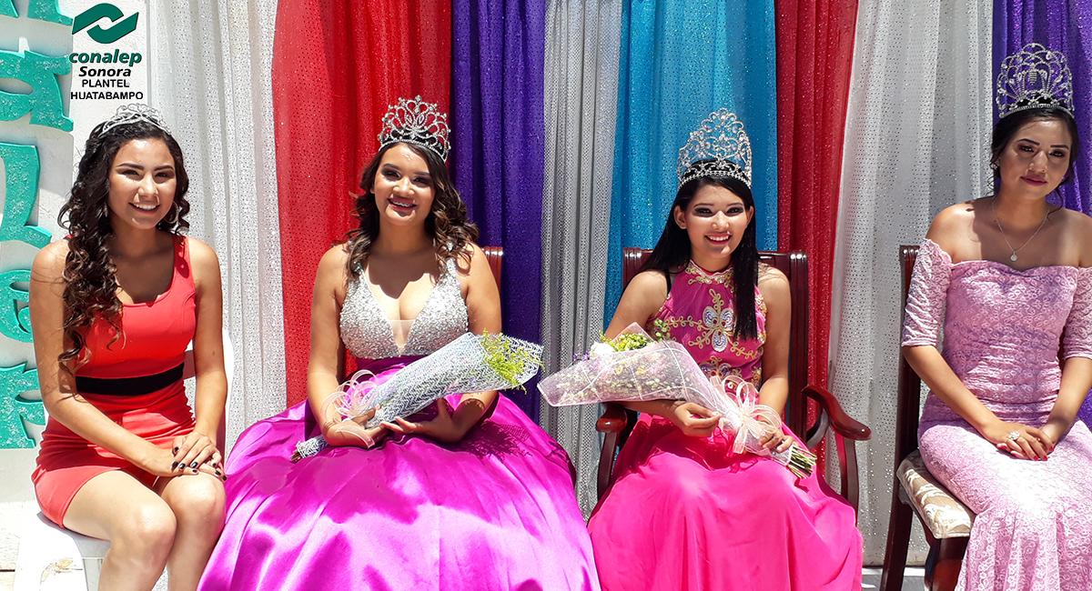 Conalep Huatabampo lleva a cabo Coronación de Reina Estudiantil 2018