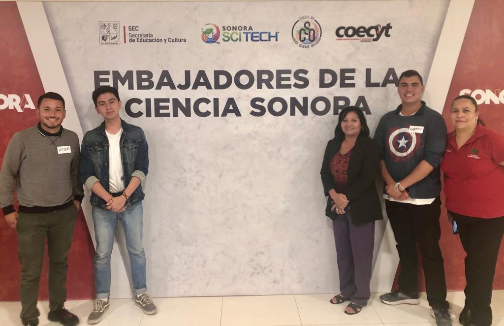 Alumnos y docentes del plantel son Embajadores de la Ciencia 2019
