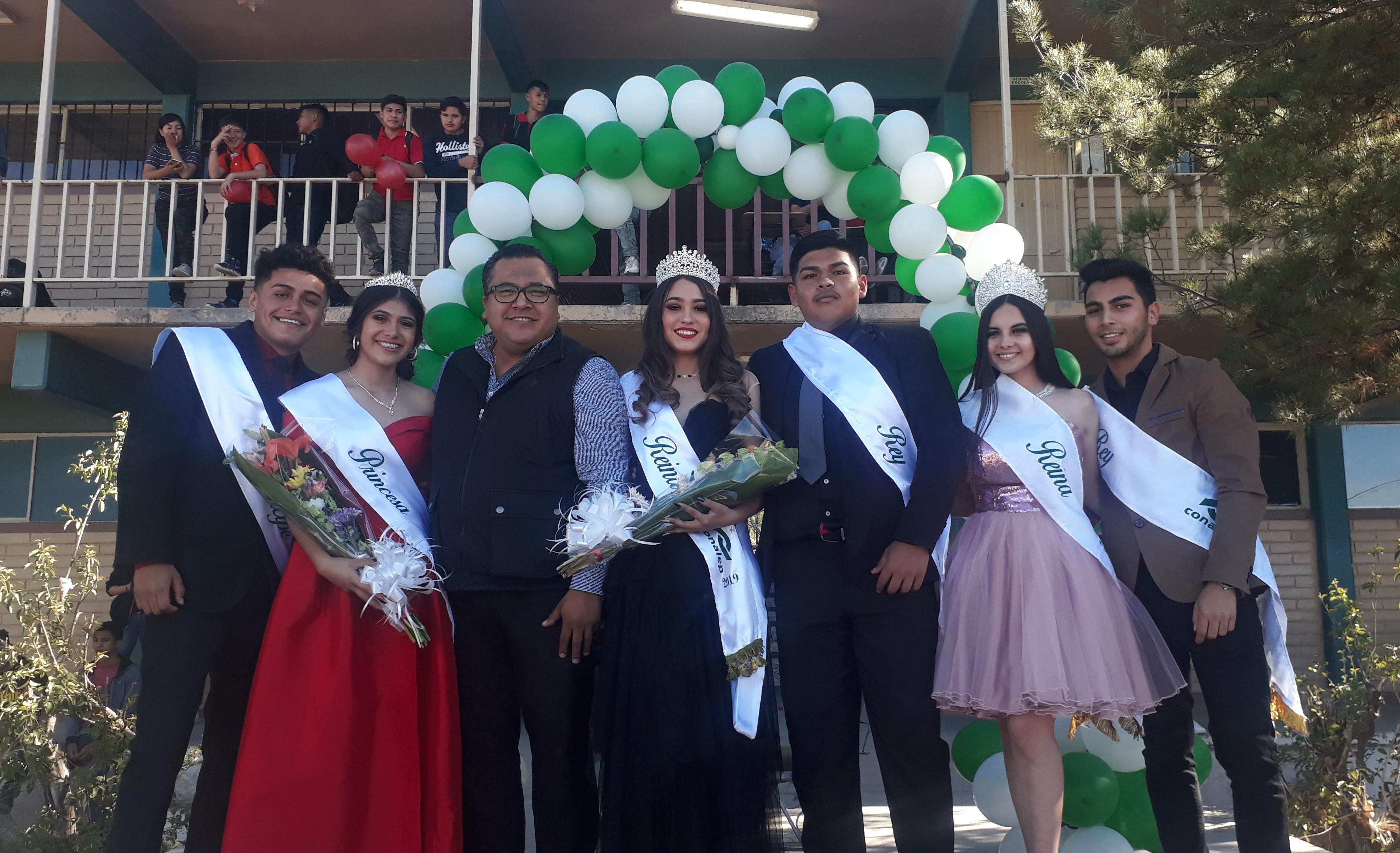 Tiene Conalep Nogales Rey y Reina Estudiantil 2019