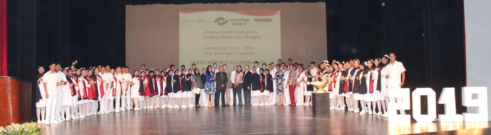 Graduación de la carrera de PTB- Enfermería General Generación 2016-2019