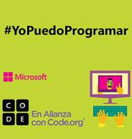 #YoPuedoProgramar Su Hora de Código está aquí